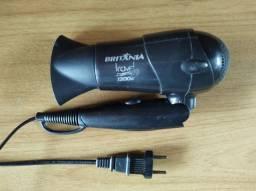 Secador de cabelos Britânia Travel 1200W 220V (usado)