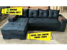 sofá várias cores
