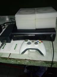 Vende Xbox mais 30 jogos mais 10 no HD um controle
