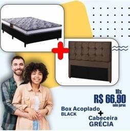 Título do anúncio: Só HOJE!! Promoção de Colchobox Acoplado Casal + Cabeceira - Só R$669,00