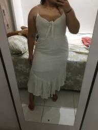 Vestido em linho M