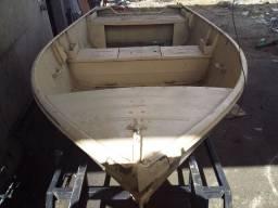 Barco de aluminio 4 comprimento x1,20 de largura borda alta