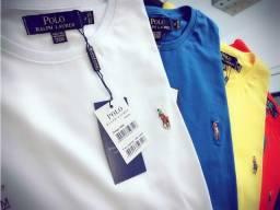 camisetas ralph lauren atacado minimo 10 pcs basicas