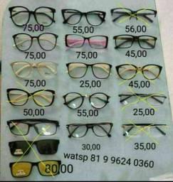 Armaçoes novas para oculos