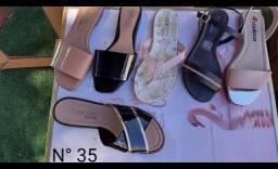 Kit 5 calçados beira rio e moleca originais (novo)