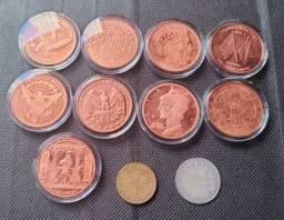 Lote moedas