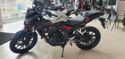Honda CB 500F 0km A Vista: R$ 36.890