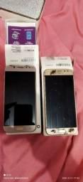 Samsung j5 pró dourado