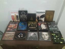 DVDs e CDs de shows, séries e filmes