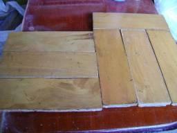 Taco de madeira usado peroba rosa