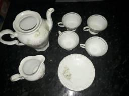 Conjunto porcela schmitd antiga