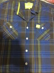 Camisa xadrez, masculina tamanho G