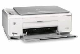 Impressora hp jato de tinta multifuncional scanner - usada