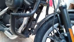 Mata cachorro, protetor de motor, Harley Davidson