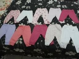 Lote de roupa para bebê menina