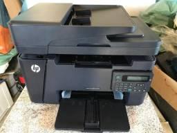 Impressora Multifuncional Laser HP M127FN - Monocromatica