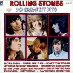 Lp Disco Vinil - Rolling Stones 30 Greatest Hits 2 Discos