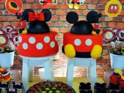 Maquetes Mickey e Minnie