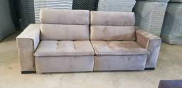 Sofa retratil , reclinavel e com pillow !!! 2,40 metros !!!
