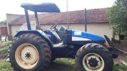 Trator newholland TL75 ano 2009
