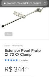 Prato Zildjan e clamp pearl