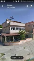Apartamento tipo casa, térreo, frente, dois quartos, 103m² na Rua Caja 1305 - Penha - RJ