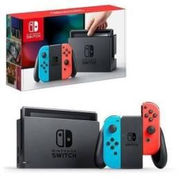 Promoção Nintendo Switch Neon Blue, Lacrado , Pronta Entrega, Lacrado
