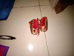 Sapato para recém nascido