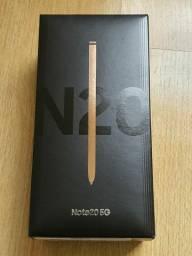 Galaxy note 20 256 GB novo