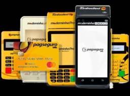 Maquina de cartão PagSeguro