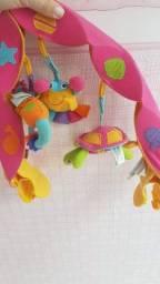 Arco musical carrinho de bebê menina