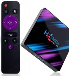 TV BOX H96 MAX 4K NOVO