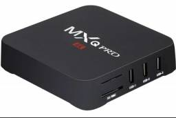 Tv box mxq 4k pro 8 GB ram 128 GB memória Android 10