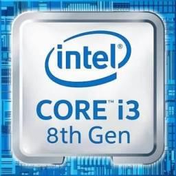 Vendo processador i3 8100 novo