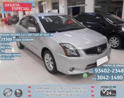 Cinza Nissan sentra 2.0 s 16V Flex 4p 2013 R$ 23.378 31067km - 2013