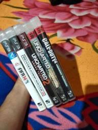 5 jogos de PS3 por $100