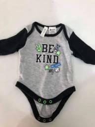 Body manga comprida - roupas infantil