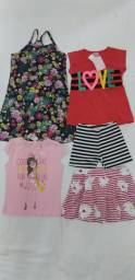 Lote de roupas infantil TAM - 6