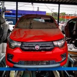 Sucata Fiat Mobi LIKE 2018 para retirada de peças