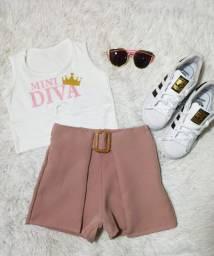 Conjunto infantil Mini Diva