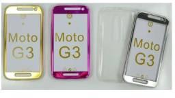 Capinha de Celular 360 Moto G3