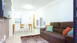 Apartamento com 2 dormitórios para alugar, 55 m² por R$ 2.600,00/mês - Jatiúca - Maceió/AL