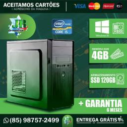 Computador i5/4gb/ssd120gb (Garantia 6 meses)