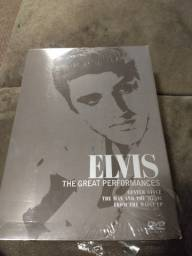 Box 3 DVD'S Elvis - The Great Performances