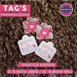 Tag's Personalizadas