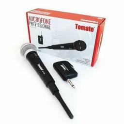 Microfone Tomate Sem Fio Mt-1002