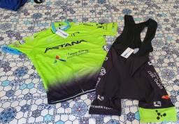 Conjunto Ciclismo Astana Bretele
