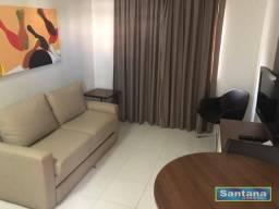 Apartamento com 1 dormitório à venda, 32 m² por R$ 93.500,00 - Turista I - Caldas Novas/GO