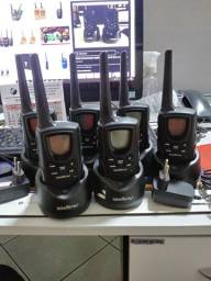 Radio comunicador Intelbras RC500 - Kit com 6 unidades