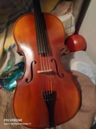 Violoncelo Michael vom140 ajustado e sonorizado por luthier